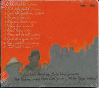 Klezmer in orient - cd - verso